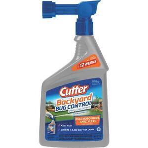 6 Pk Cutter Backyard Bug Control 32 Oz. Ready To Spray ...