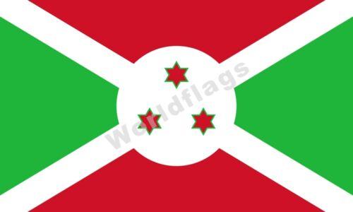 Burundi Drapeau 3X5FT historique 1961 1962 1966 National Armée ROYAL Bannière