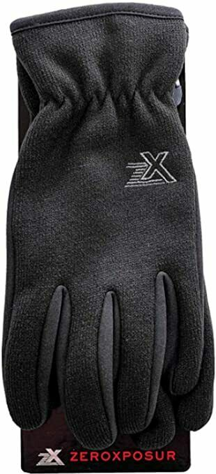NEW Zeroxposur Men's Performance Knit Gloves with Touchscreen FAST SHIPPING!