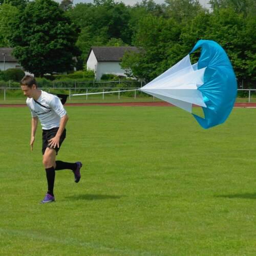 Trainingsbedarf Sprintfallschirm für Sprinttraining Fußball Neu Superspieler24