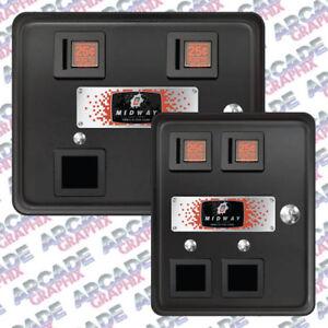Multicade Arcade Cabinet Bally Midway Coin Door Replica
