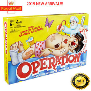 Operation-Kids-Family-Classic-Board-Game-Fun-Childrens-Gifts-New-arrival