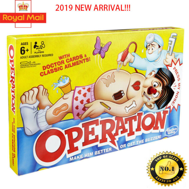 Operation Kids Family Classic Board Game Fun Childrens Gifts  New arrival!