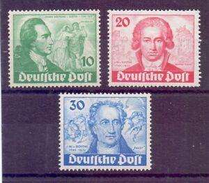 Berlin-1949-Goethe-MiNr-61-63-postfrisch-Michel-320-00-365