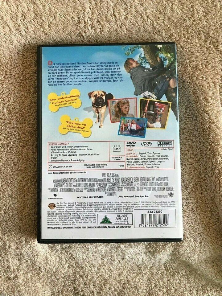 See Spot run spot, instruktør Warner Bro, DVD