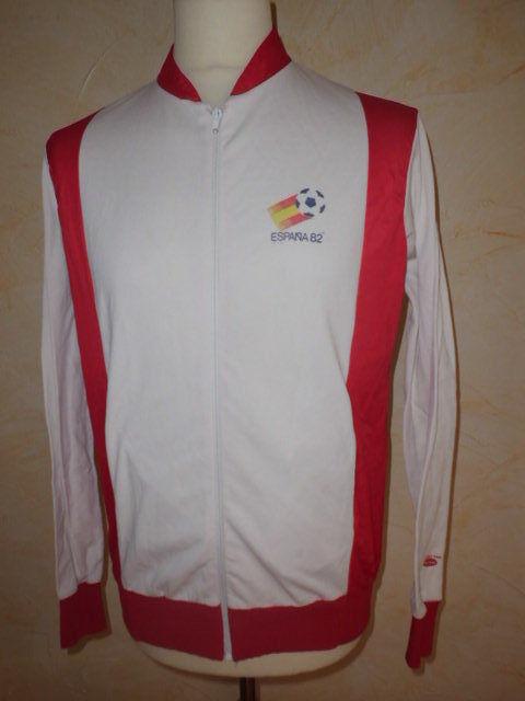 Rare veste de survêtement collector mondial de foot ESPAGNE 1982 HENKEL Dimensione 4