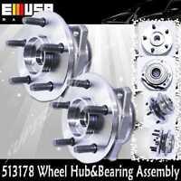 2pcs Front Wheel Hub&bearing 03-05 Jeep Liberty Renegade Sport 3.7lno Abs 513178