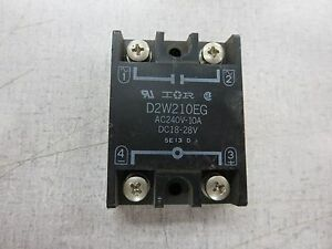 Crydom IR D2W210EG 240V 10A 1828V Solid State Relay 8002C EBay - Solid State Relay Ir