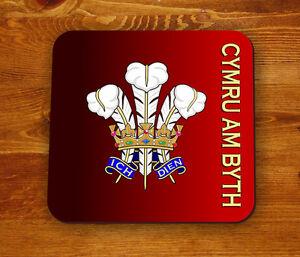 Prince of Wales feathers - Cymru am Byth Coaster 9k4X8iyC-09120635-251664817