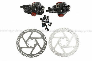 Avid-BB7-Mechanical-Disc-Brake-Front-and-Rear-Calipers-160mm-G2-Rotors