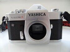 M42 SCREW MOUNT YASHICA TL ELECTRO X SLR FILM CAMERA BODY. 35MM  GOOD CONDITION.