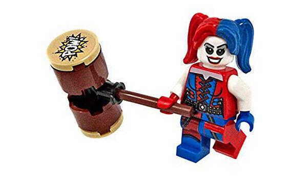 LEGO DC COMICS HARLEY QUINN MINIFIGURE BRAND NEW.