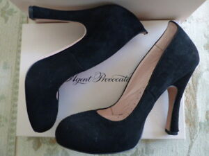 Prudent Agent Provocateur Vivienne Westwood 39 40 En Daim Noir Chaussures 5.5 6 Talons Neuf Box-afficher Le Titre D'origine Les Produits Sont Disponibles Sans Restriction
