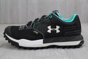 buy popular 83660 30472 24 Under Armour Black UA Newell Ridge Low GORE-TEX Shoes ...