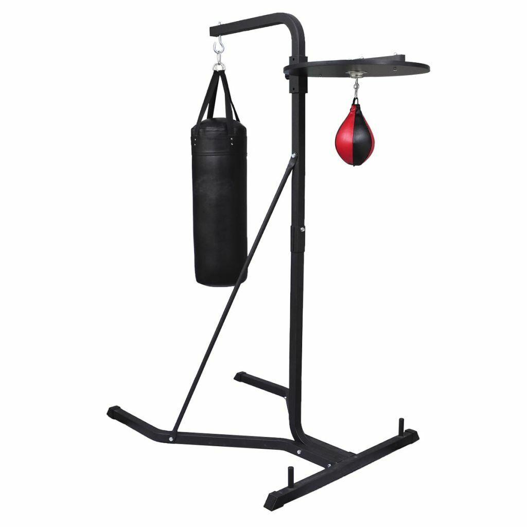 Black Pro Box Speed Ball Bag Boxing Training