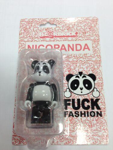 "Medicom x  Nicopanda Bearbrick Fxck Fashion /""Fxck/"" 100/% Be@rbrick Cardboard"