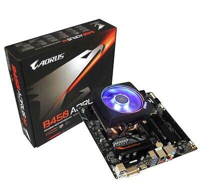 AMD Ryzen 7 1700X 3.4GHz Processor /& Gigabyte B450 Aorus M motherboard COMBO
