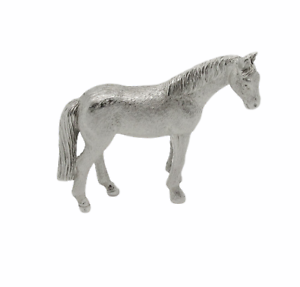 English Made Solid Sterling Silver Horse Animal Model Figure Uk Hallmarks Ebay
