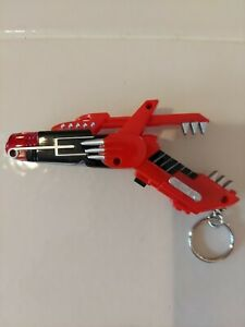 Vintage 1993 sabon mighty more from Power Rangers Red Blaster Key Chain