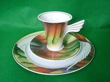 Rosenthal Mythos Icaria Kaffeegedeck 3 teilig  Desing  Paul Wunderlich