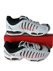 Nike-Air-Max-Tailwind-IV-White-Red-Black-AQ2567-104-Men-039-s-9-5
