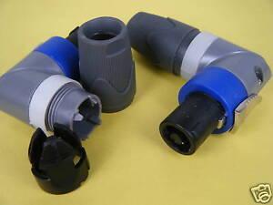 1pcs-4-Pole-Male-Angle-Droit-Connecteur-De-Cable-Adaptateur-4-Speakon-Haut-Parleur-Amplificateur