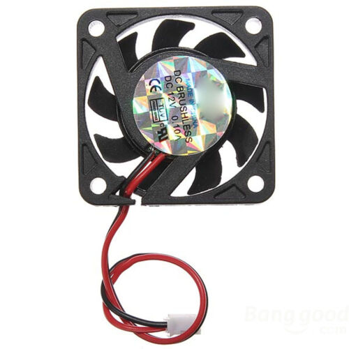 New 40mm 2Pins 12V PC CPU Host Chassis Computer Case IDE Fan Cooling Cooler