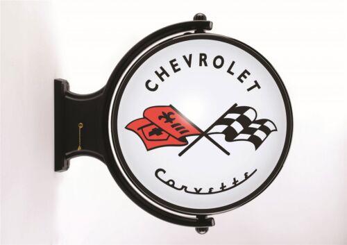 Chevrolet Corvette Revolving Wall Light