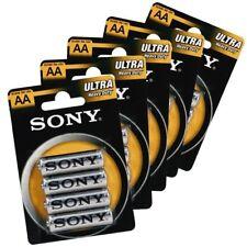 48 Stilo Sony 48 Batterie Pile AA SUM3 R6 Ultra 12 Confezioni Stilo 1.5 V