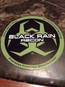 BLACK RAIN RECON LOGO DECAL STICKER FIREARM GUN AR 15 MANUFACTURER RIFLE L@@K