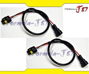 Admirable Wire Hid Ballast Kit Xenon 9006 Hb4 Two Harness Head Light Extension Wiring Database Plangelartorg