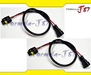 Cable-Hid-Ballast-Kit-Xenon-9006-HB4-Dos-Arnes-de-Cabeza-Luz-Conector-Enchufe