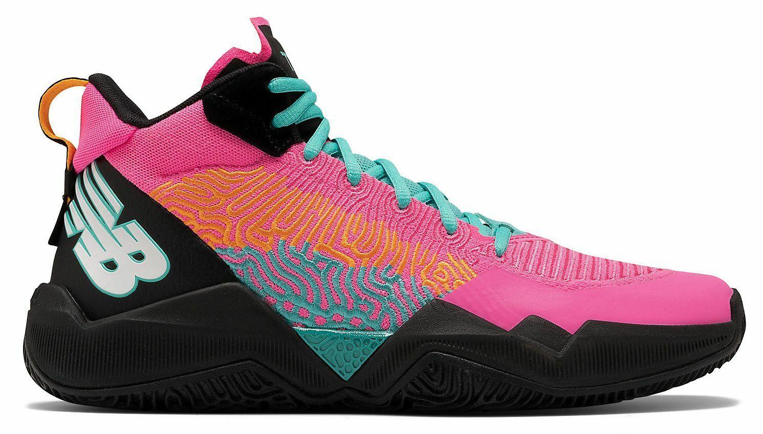 New balance shoes dejounte murray two wxy light peony black