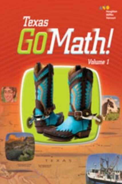 Go Math Texas Grade 2 Student Edition Set 2nd Volumes 1 2
