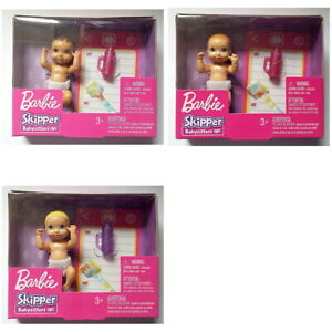 Barbie-Skipper-Babysitters-INC-BABY-DOLL-Toy-Set-You-Choose-Style