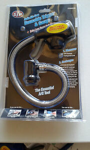 Trigger Dispenser Charging Hose & Gauge Fits ID STP & Most Other brands
