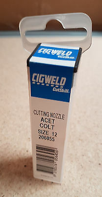 Cigweld Cutskill TYPE 41 CUTTING NOZZLE for Oxygen//Acetylene Size 6 8,12 or 15