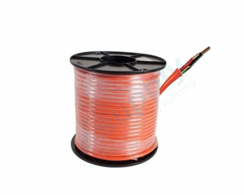 2.5mm 2Core and Earth Orange Circular TPS Electrical Cable 100mtrs