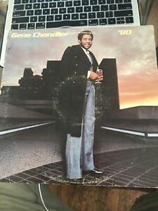 Gene Chandler '80 - Eighty USA vinyl LP album record T-605 CHI-SOUND 1980