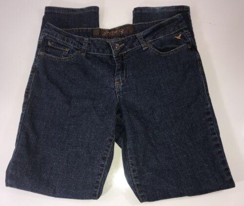 Grane Jeans Dark Wash Low Rise Straight Legged Wom