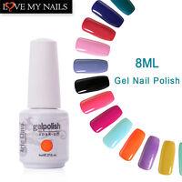 Arte Clavo Lacquer Soak-off UV LED Gel Nail Polish 220 Colours Top Base Coat 8ml