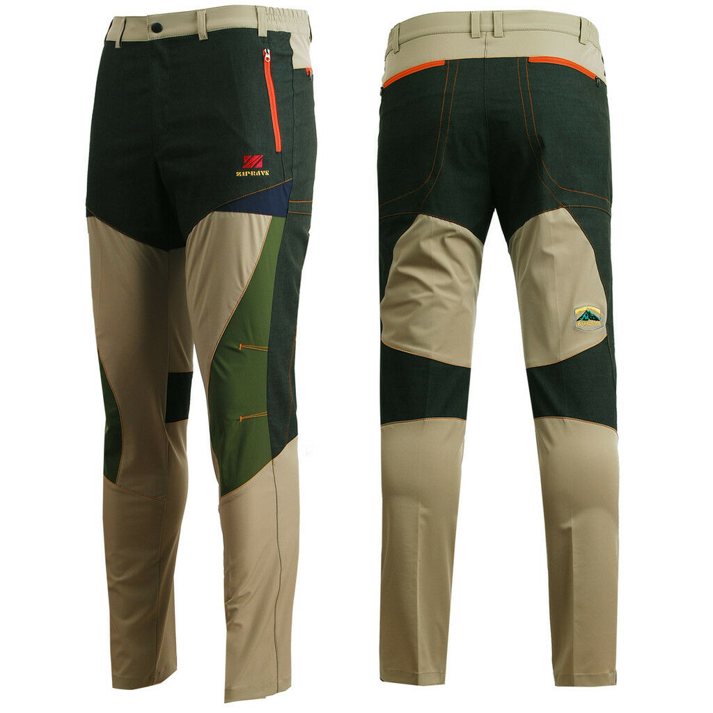 Zipravs mens Outdoor clothing  road Hiking CAMPING working Trousers sports pants  choices with low price