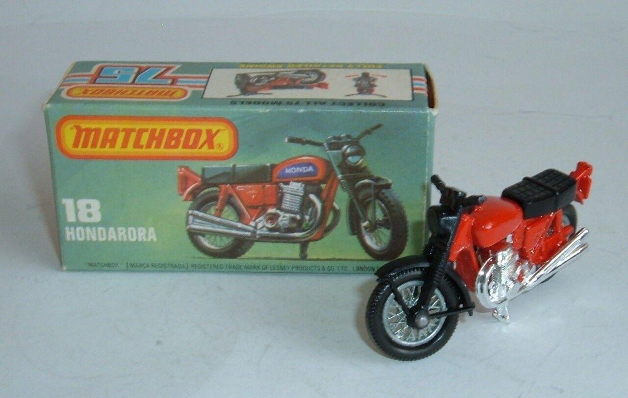Matchbox Superfast No. 18, Hondarora, - Superb Mint