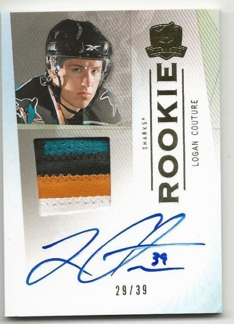 09-10 The Cup Logan Couture Gold Rainbow Auto 4 color Rookie Card RC #116 29/39