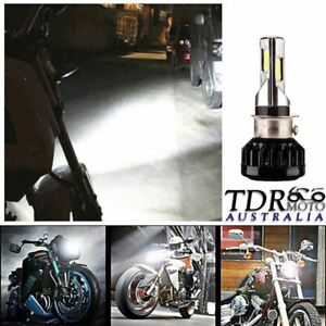 35W-3500LM-LED-Hi-Lo-Beam-H4-H6-Motorcycle-Headlight-Front-Light-Bulb-Lamp-DC
