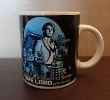 "100% Official Doctor Dr Who BBC Time lord peter davidson dalek cybermen mug 4"""