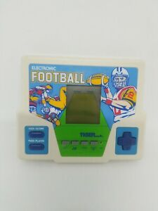 Tiger-Electronics-Electronic-Football-LCD-Handheld-Game-1987-Tested-amp-Working