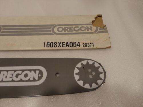 "335 Oregon 160SXEA064 3//8 P .050 56DL 16/"" Chainsaw Bar fits Husqvarna 34,35 37"