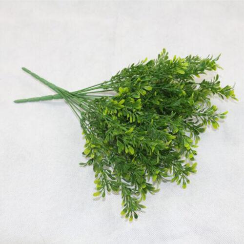 28HEADS Outdoor Flower Fake False Plants Grass Artificial Garden Daisy Decor
