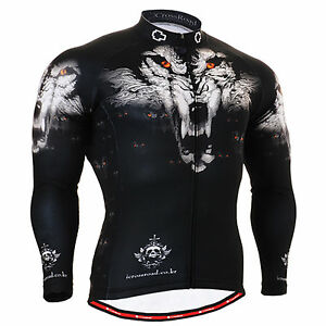 Image is loading FIXGEAR-1801-mens-womens-wolf-mountain-cycling-jersey- cb0027f04